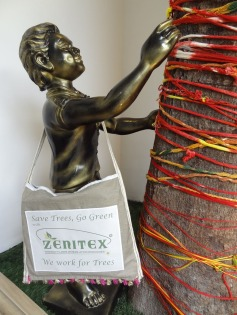 At Zenitex We Work for Trees - Save Trees