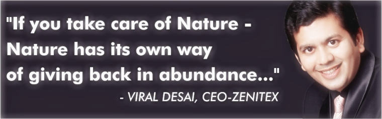 viral desai zenitex hearts@work nature quote mystical face