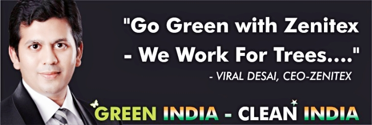 quote by viral desai ceo zenitex - green india clean india