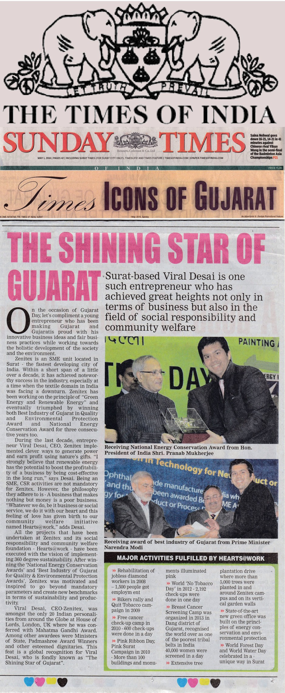 toi shining star of gujarat viral desai 010516 - 4 JPG FEATURED IMAGE